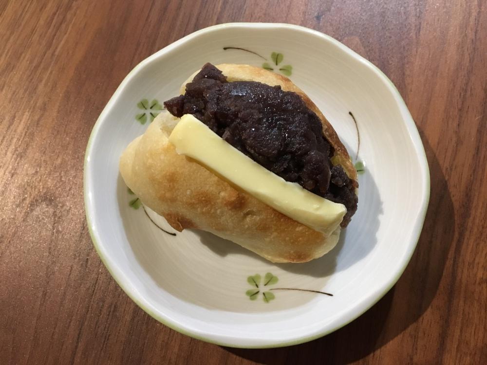 あんこ バター